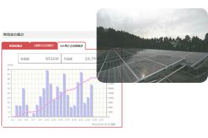 太陽光発電の遠隔監視システム設置